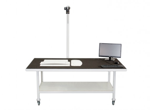 PhotoTrace table for templates, patterns and pieces digitizing