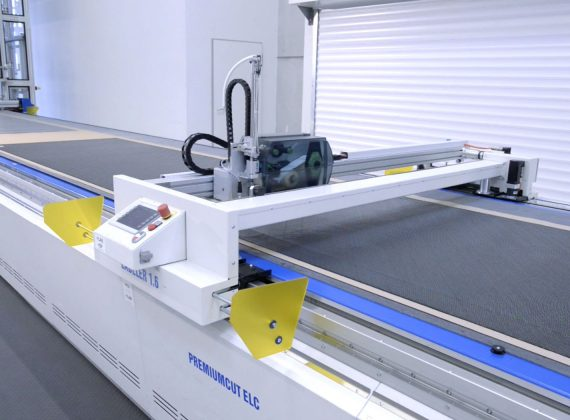 bulmer fabrics cutting machine