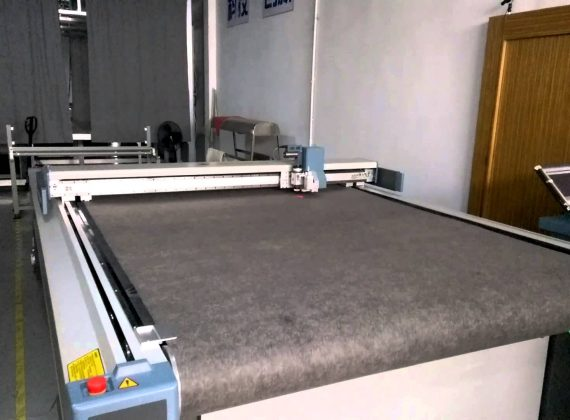 Bullmer single leyer cutting machine