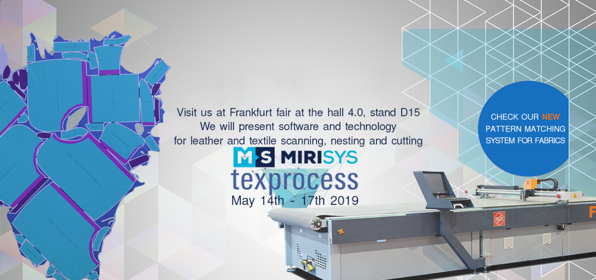 Texprocess Fair Frankfurt 2019 MiriSys Software